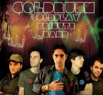 Coldplay tributeband Goldrush treedt op in Thalia Theater